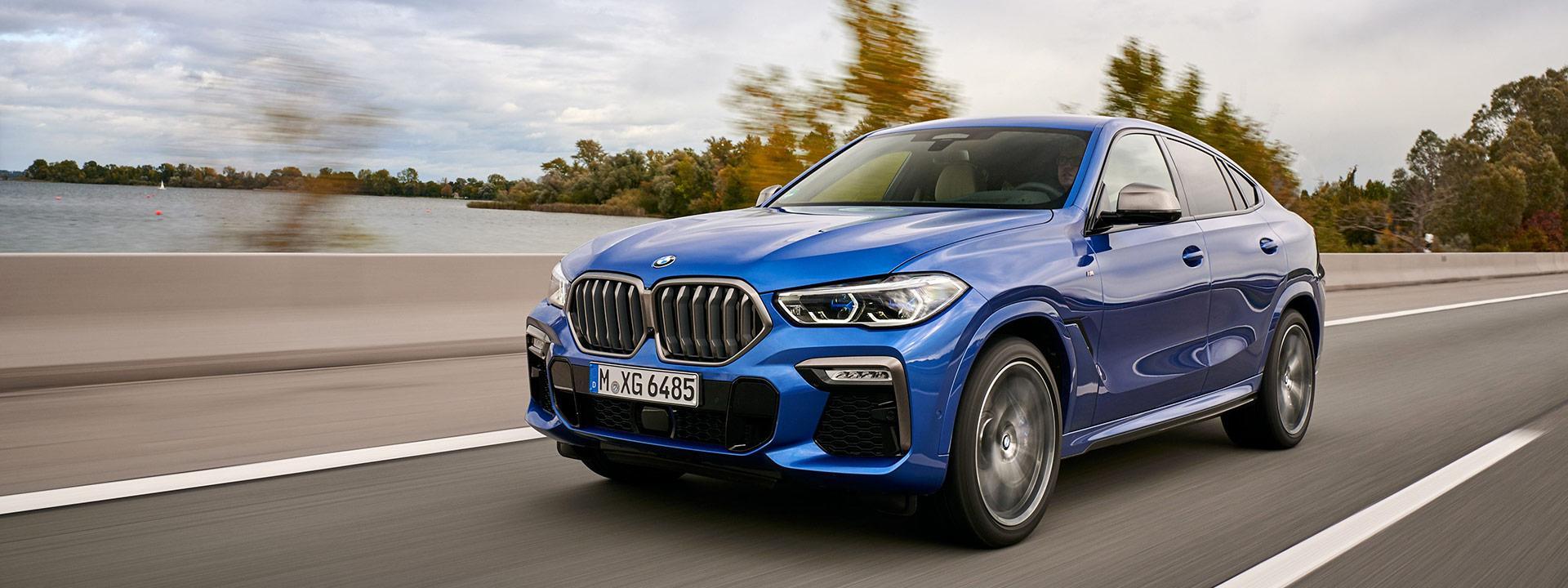 BMW X6 3-ГО ПОКОЛЕНИЯ ОСНАСТЯТ 4,4-ЛИТРОВЫМ АГРЕГАТОМ V8 НА 530 Л.С.