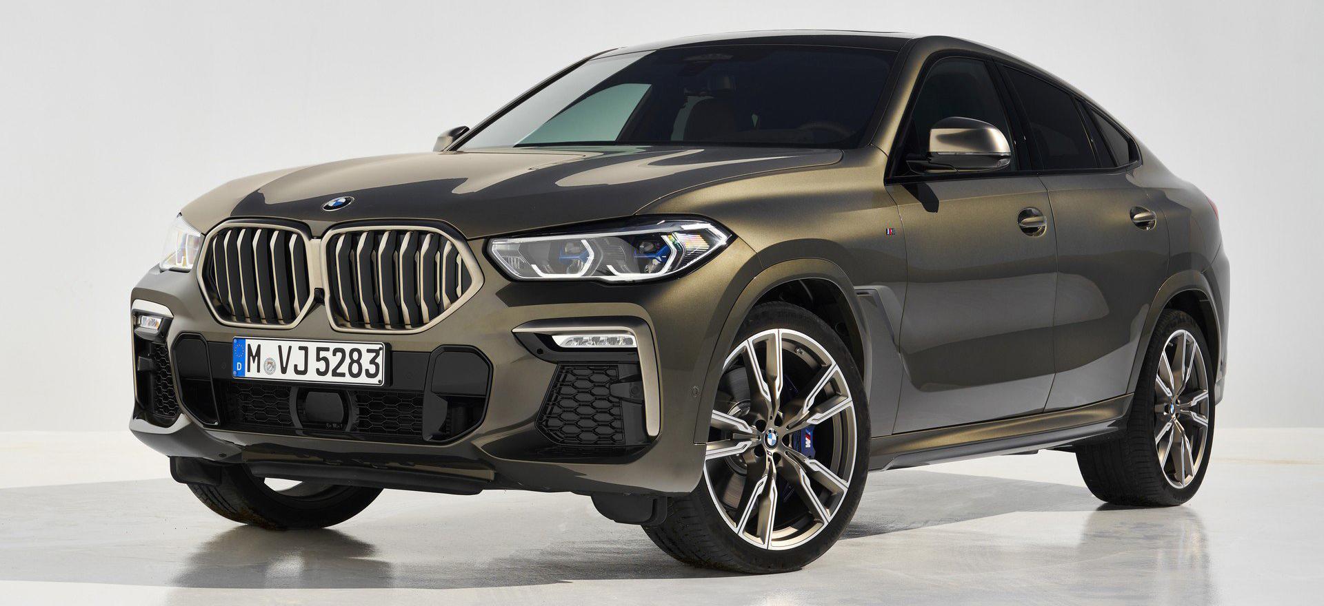 Представлен новый BMW X6