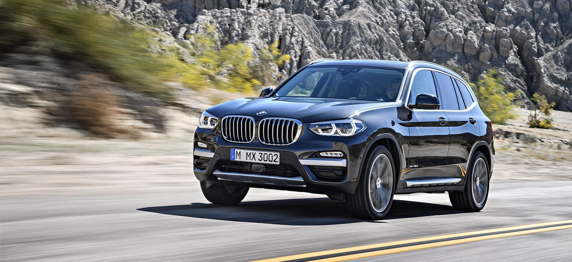 «Авто-Авангард» провел мероприятие презентация нового BMW X3