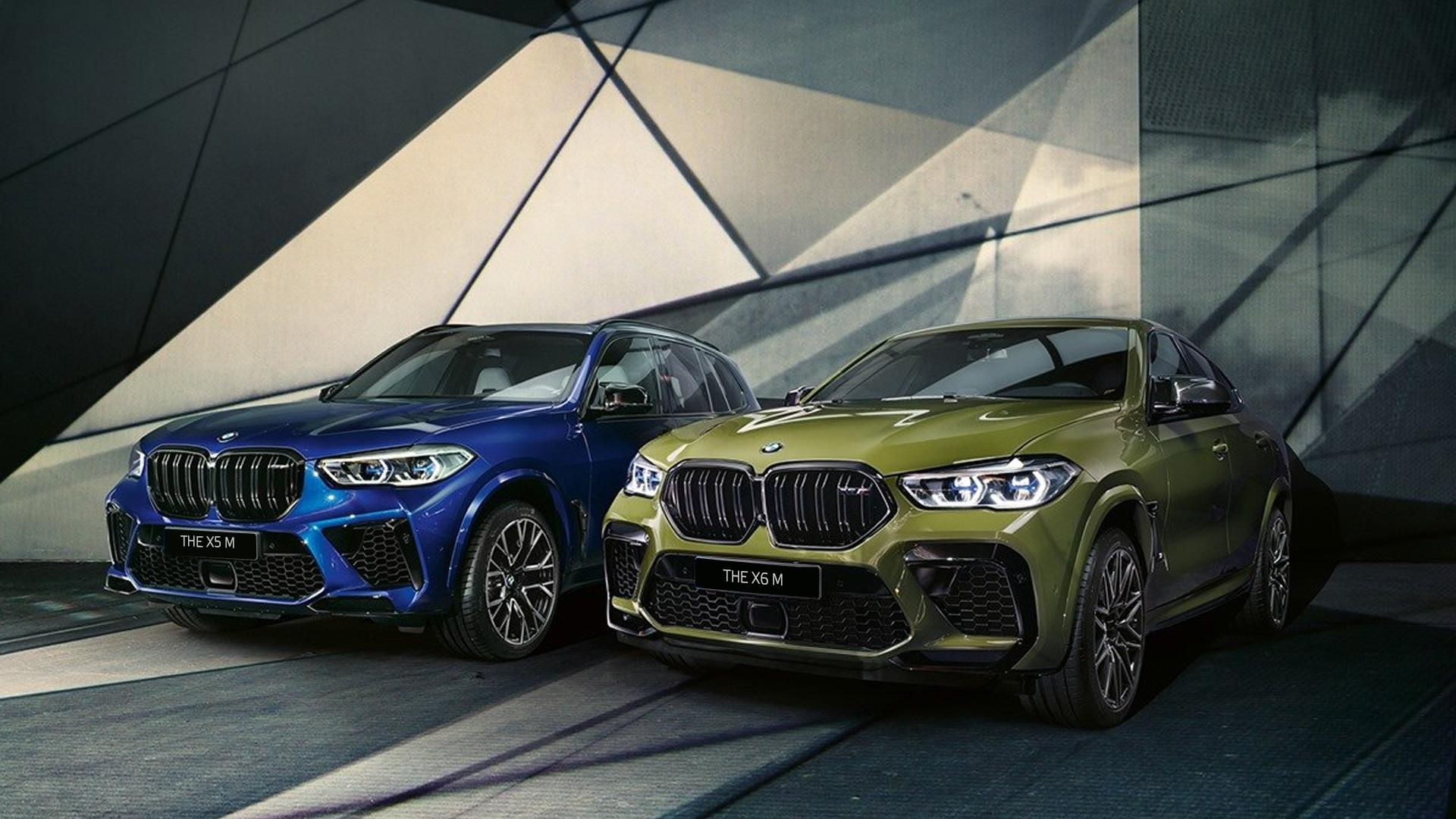 Старт продаж BMW X5 M и BMW X6 M